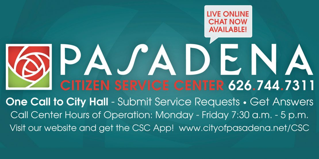 Pasadena Citizen Service Center