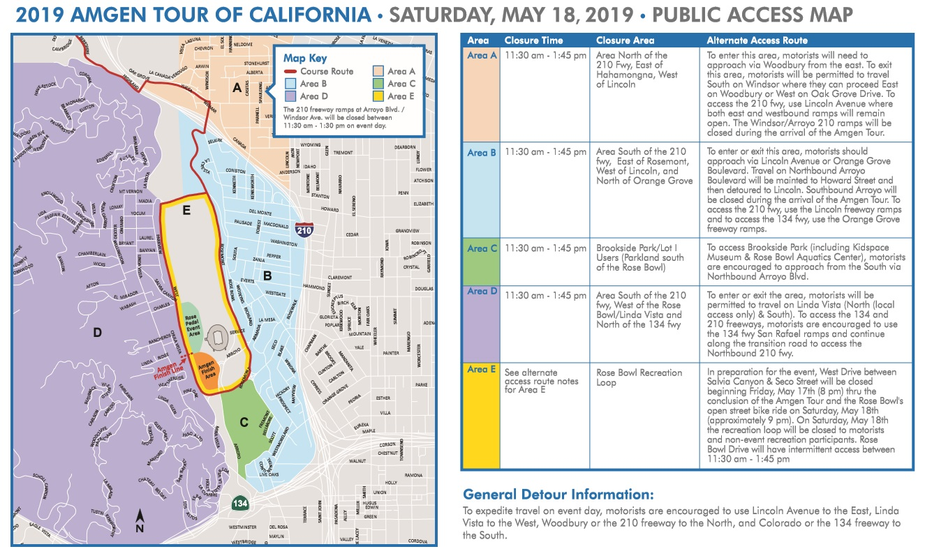 Traffic Advisory and Road Closures for Major Events Saturday