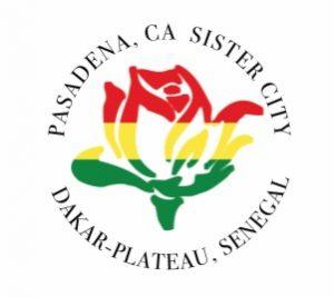 Dakar-Plateau, Pasadena sister cities logo