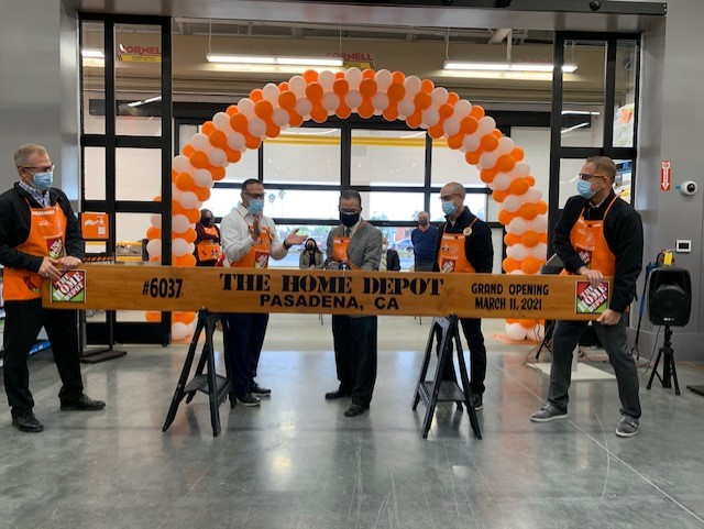 Home Depot Opening