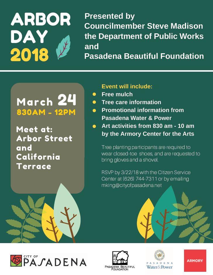 Arbor Day 2018