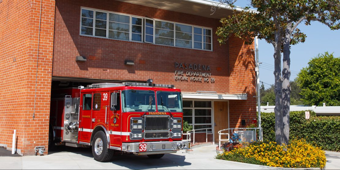 fire station kenneth bluew - 1110×555