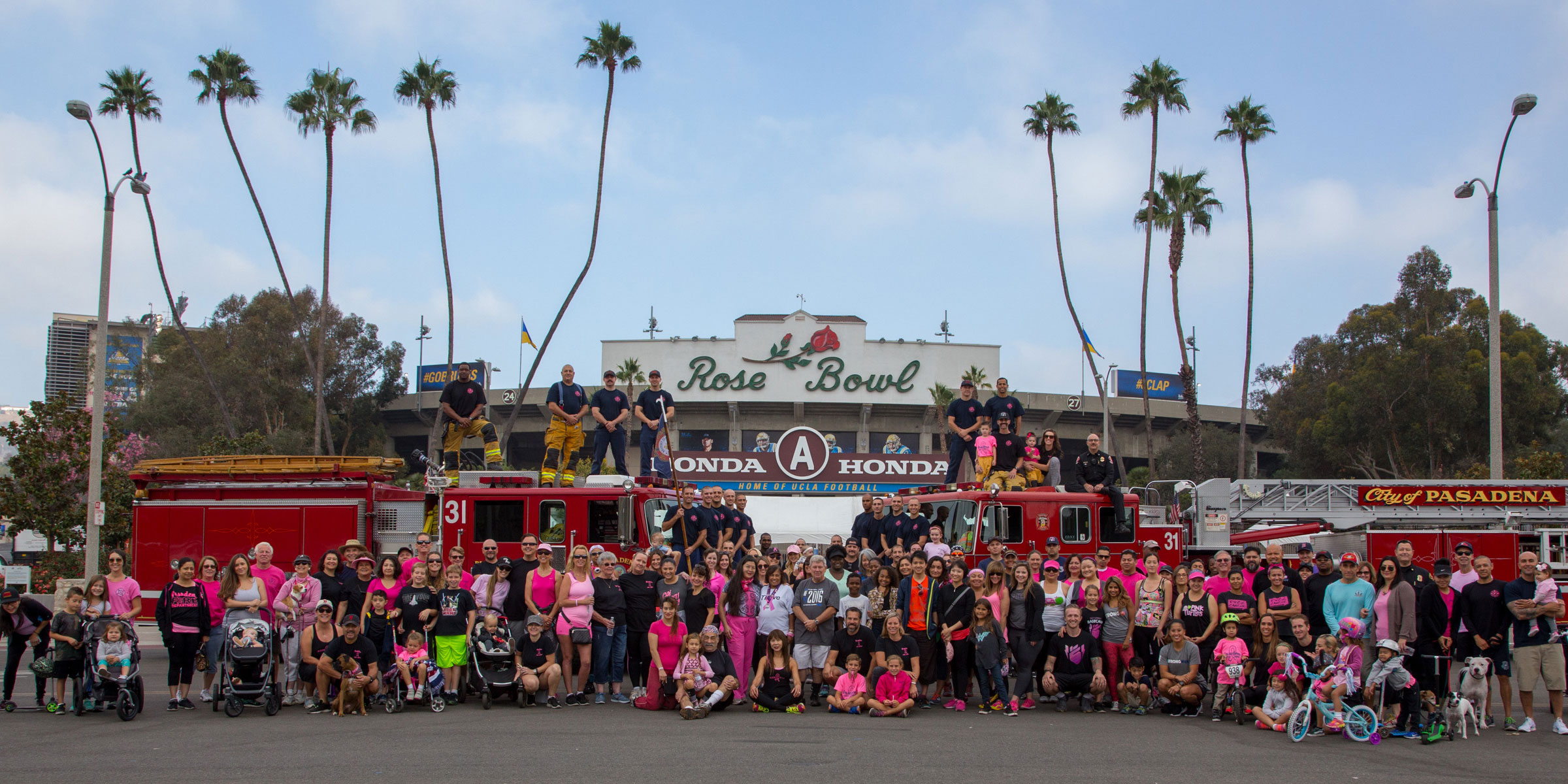 Pasadena Fire Department Goes Pink Event