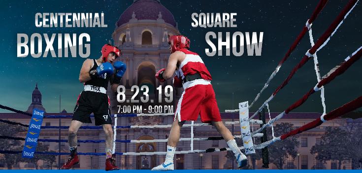 Centennial Square Boxing Show