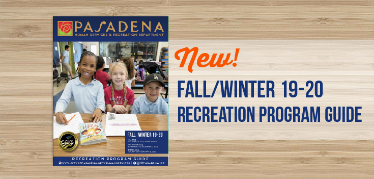 Fall/Winter Recreation Guide 2019-2020