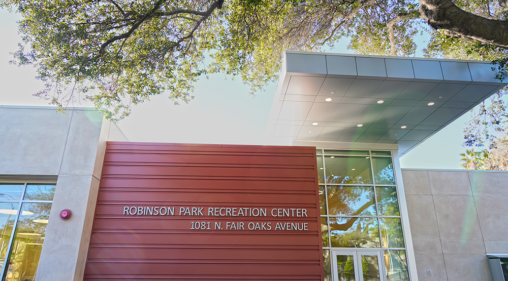 Robinson Park Recreation Center Grand Re-Opening