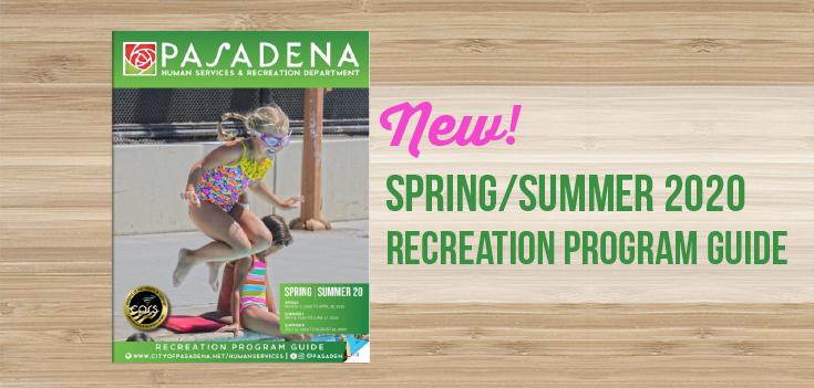 Spring/Summer 2020 Recreation Guide