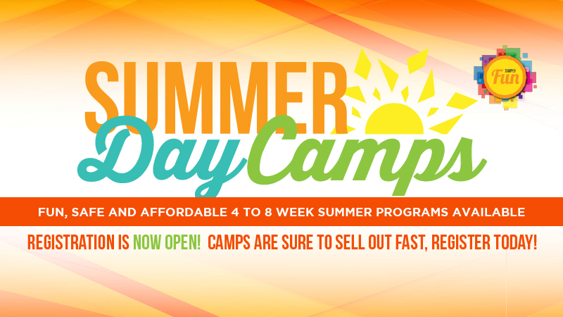 Summer Day Camps - Registration NOW OPEN!