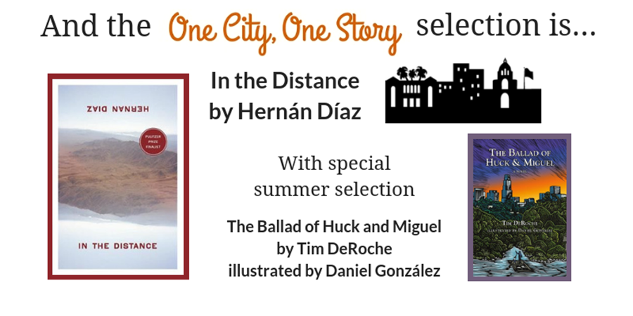 The 2019 One City One Story selection is In…