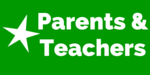 "Image of star with text ""Parents & Teachers"""