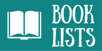 "Icon of open book ""Book Lists"""