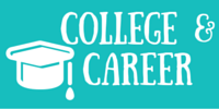 "Icon of cap with tassel ""College & Career"""