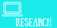 "icon of computer ""Research"""