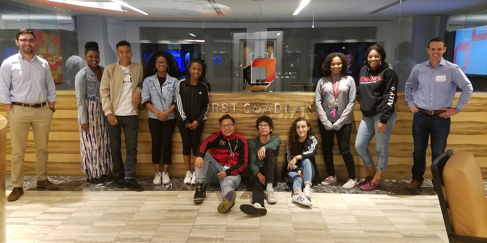 Youth Ambassadors at First Quadrant