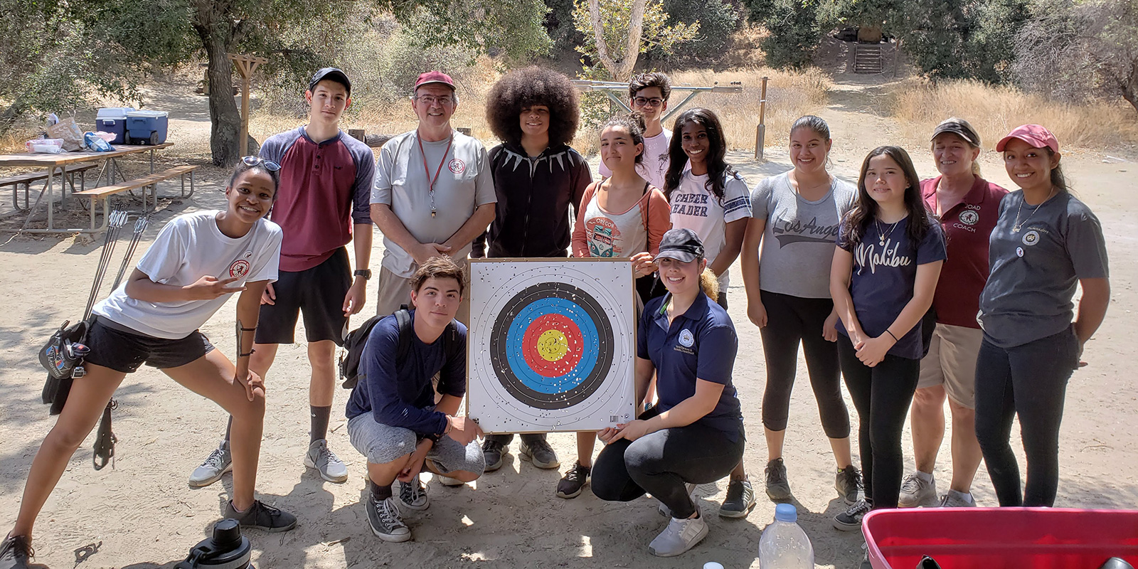 Youth Ambassadors at Lower Arroyo Seco