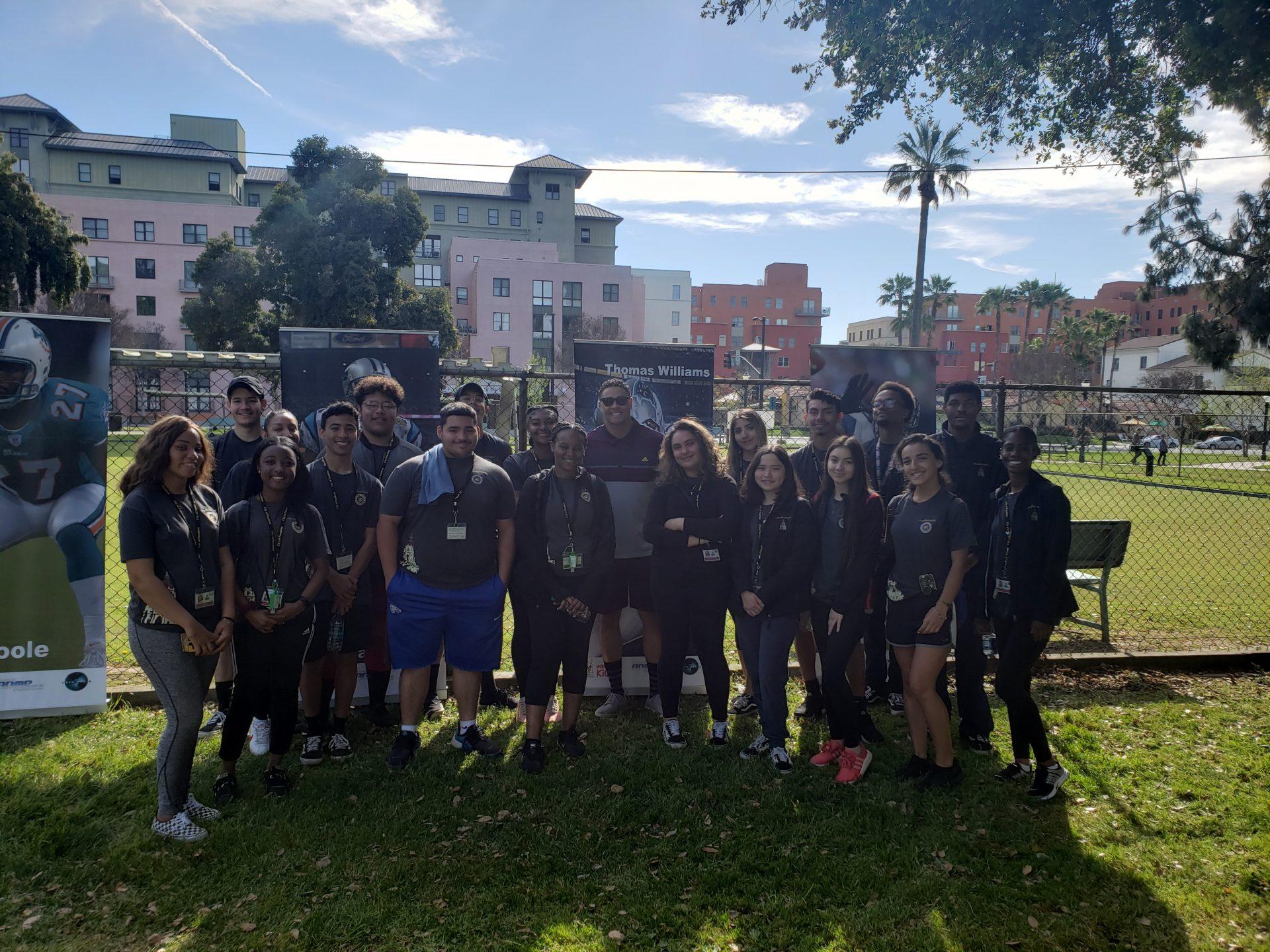 Youth Ambassadors with Thomas Williams