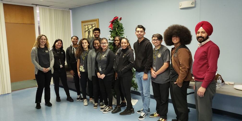 Youth Ambassadors with General Manager Bawa