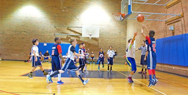 Spring Basketball League