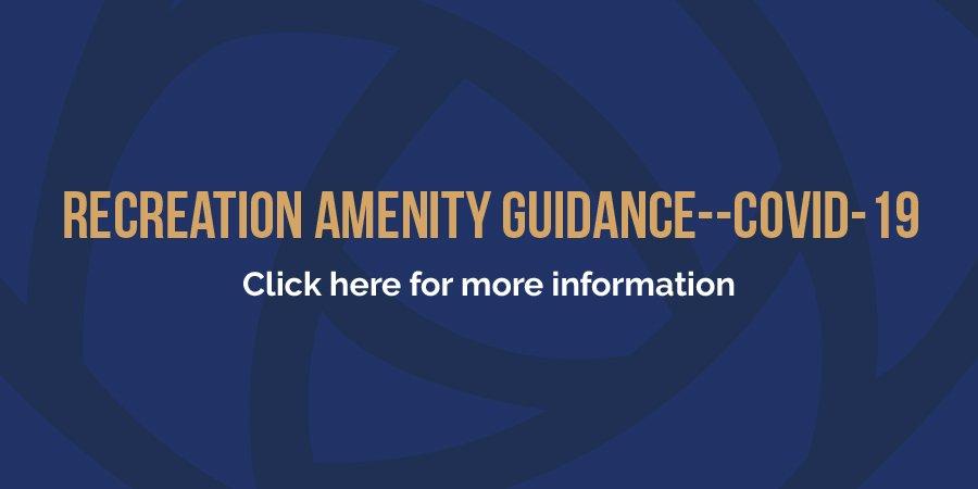 Recreation Amenity Guidance--COVID-19