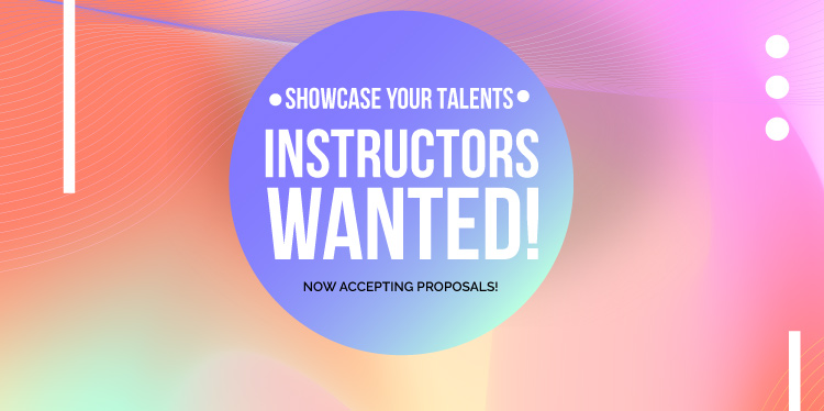 Instructors Wanted! Click here for more information