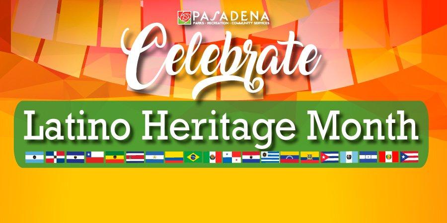 Celebrate Latino Heritage Month - Click here!