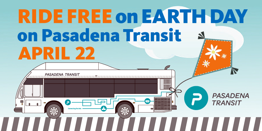 Ride Free on Earth Day – April 22, 2019