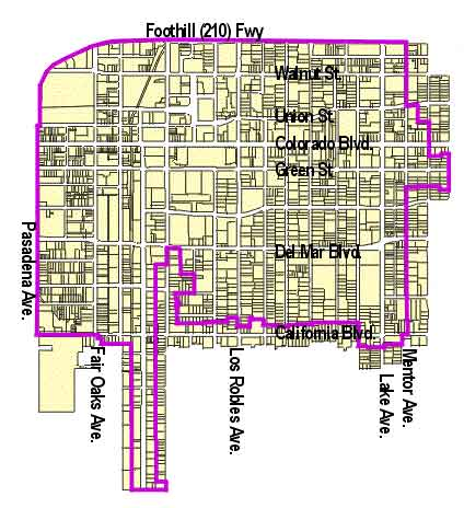 Central District Specific Plan Map