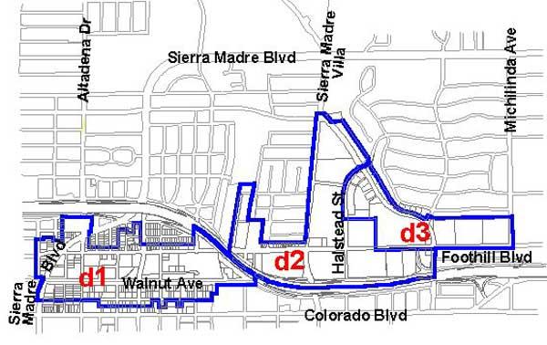 East Pasadena Specific Plan Map