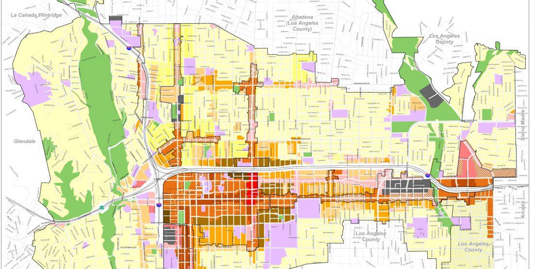 General Plan Adopted Land Use Diagram