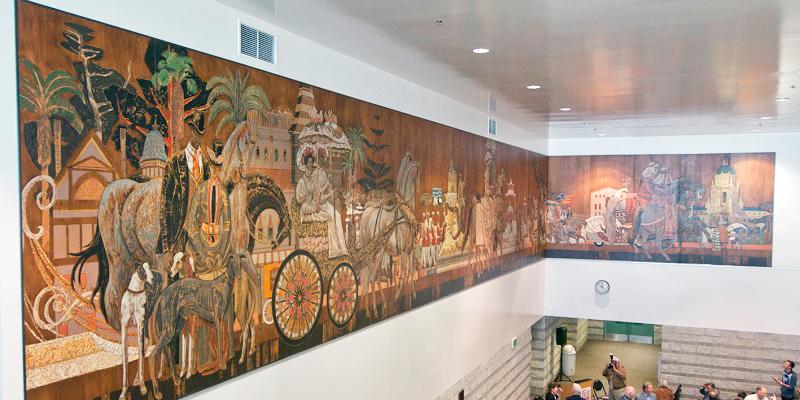 Millard Sheets Mural Gifted to City of Pasadena