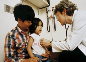 Children Being Examined by Doctor 200x275 image