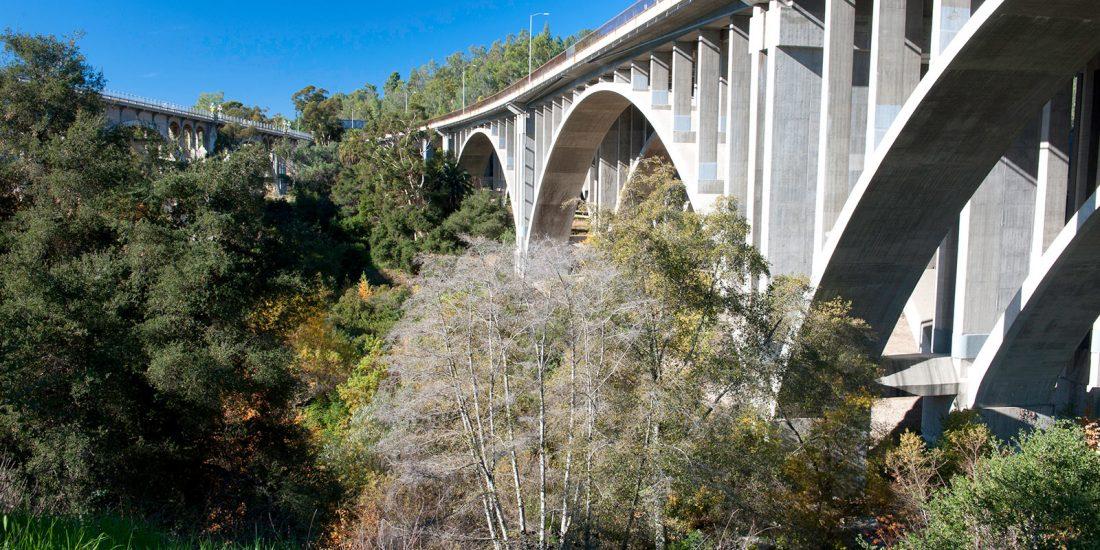 Bridge over the Arroyo Seco, Pasadena