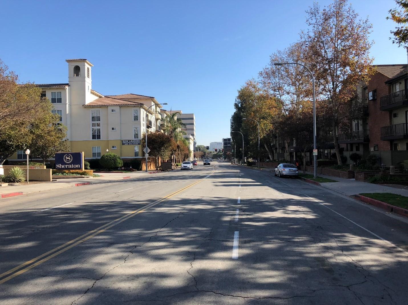 Cordova Street between Marengo and Euclid Today