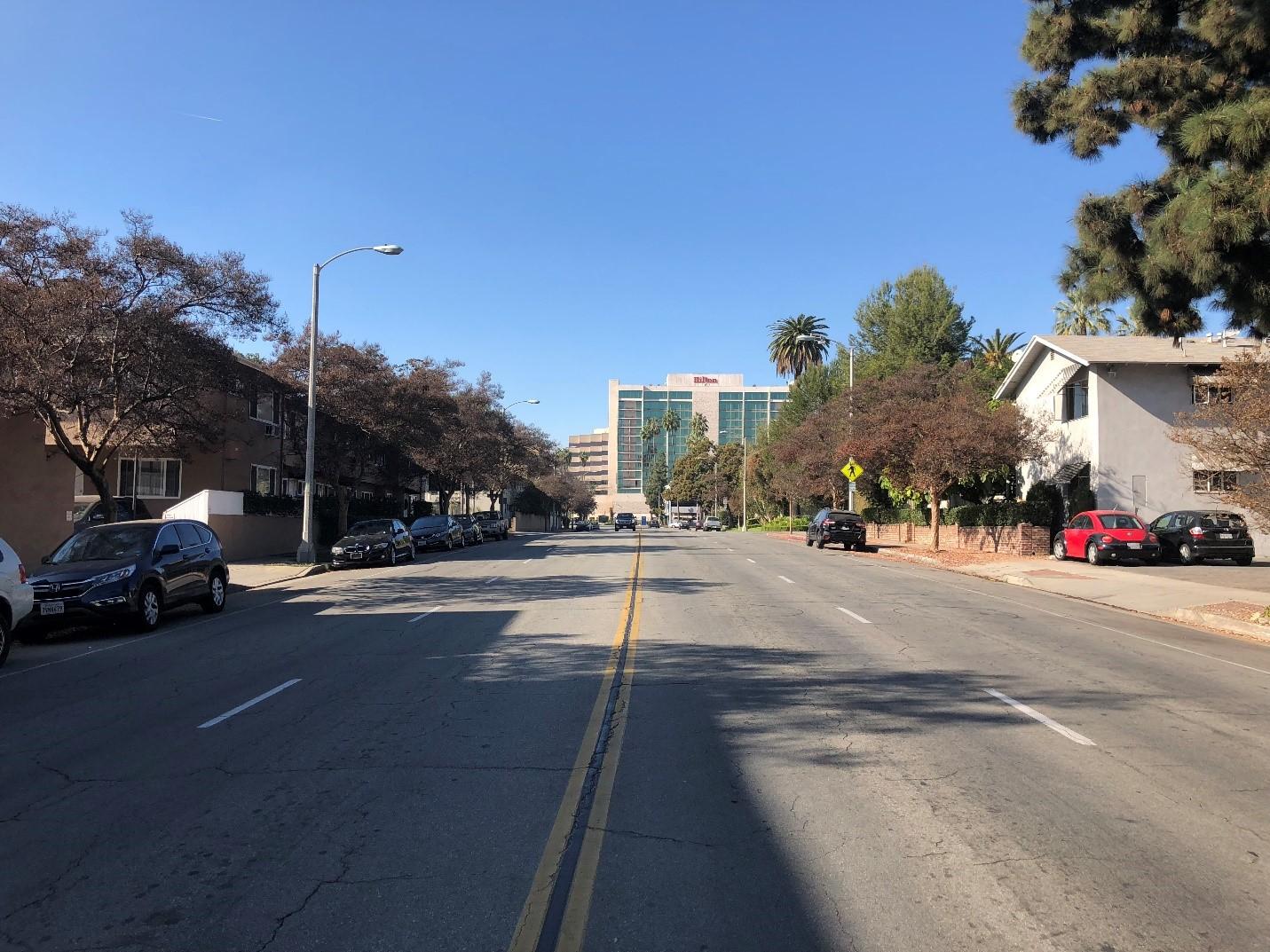 Cordova Street between Madison and El Molino Today