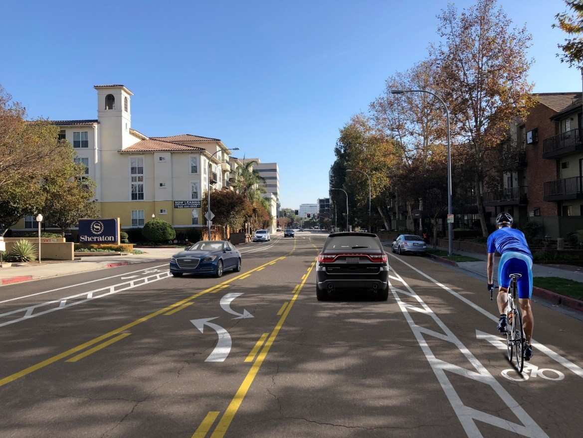 Cordova Street between Marengo and Euclid with proposed enhancements