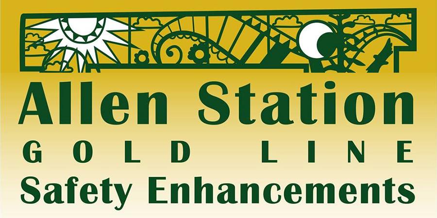 Allen Station Gold Line Safety Enhancements