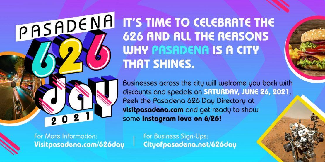Pasadena 626 Day