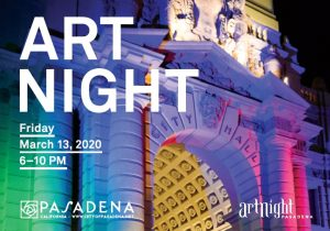 ArtNight Brochure Cover 2020 Spring