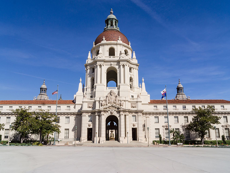 City Hall City Of Pasadena