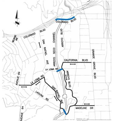 Local Access Map