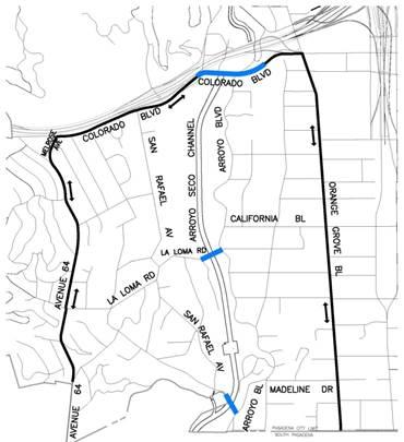 Primary Detour Map